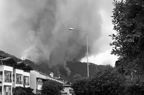 Президент страны Реджеп Тайип Эрдоган заявил, что к расследованию причин пожаров привлекли разведку