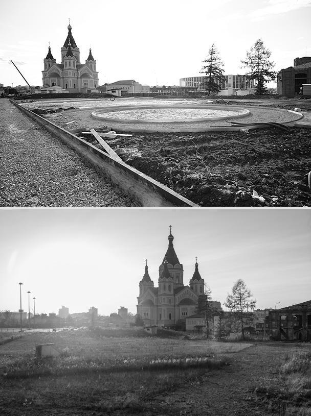 Стрелка является уникальной географической точкой Нижнего Новгорода: здесь сливаются Волга и Ока. Благодаря реставрации, здесь появилась многофункциональная инфраструктура, зоны отдыха и уникальные видовые площадки
