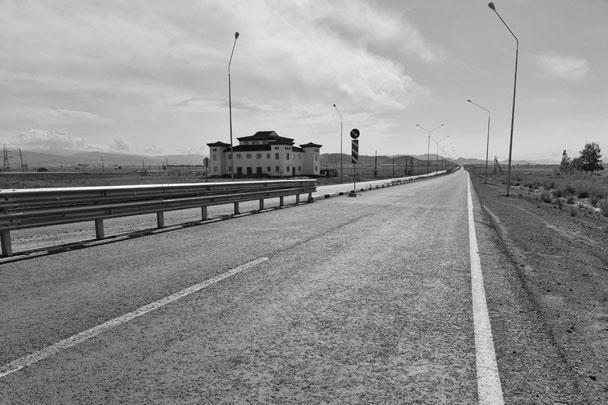 Дорога к городу Шагонар
