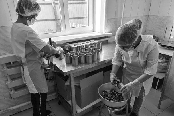 Кызыл-Хая, производство тушёнки из яка и других продуктов