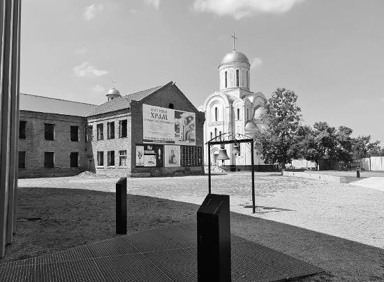 Здание бывшей школы № 1 Беслана