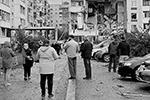 Из-за взрыва частично обрушились квартиры на втором и третьем этажах(фото: Валерий Мустаев/ТАСС)