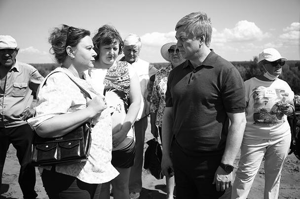 Алексей Русских встречается с жителями региона