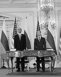 Когда был подписан СНВ-3 с США накал борьбы заметно поослаб (фото ИТАР-ТАСС)