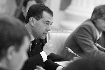 О том, что инноград будут создавать в подмосковное Сколково, президент Дмитрий Медведев объявил на встрече со студентами-победителями Олимпиад. По словам Президента, там будет построен ультрасовременный научно-технологический комплекс по разработке и коммерциализации новых технологий.(фото: )