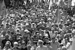 Десятки тысяч демонстрантов вышли в воскресенье на улицы Кишинева, чтобы потребовать отставки руководства Молдавии – членов альянса «За европейскую интеграцию»(фото: newsmoldova.ru)
