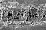 Чтобы понять, какая работа была проделана исследователями, необходимо видеть как затонувшее судно выглядит на экране гидролокатора (сонара)(фото: граффика)
