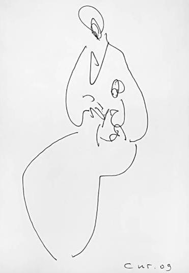 Александр Сигутин, «Прориси», серия из 12 работ. 2007-2009 гг. Холст, масло
