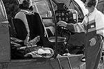 Пострадавших доставили на вертолетах в столичный госпиталь(фото: ИТАР-ТАСС)