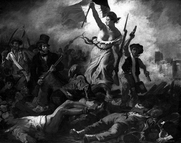 Свобода, ведущая народ, 1830