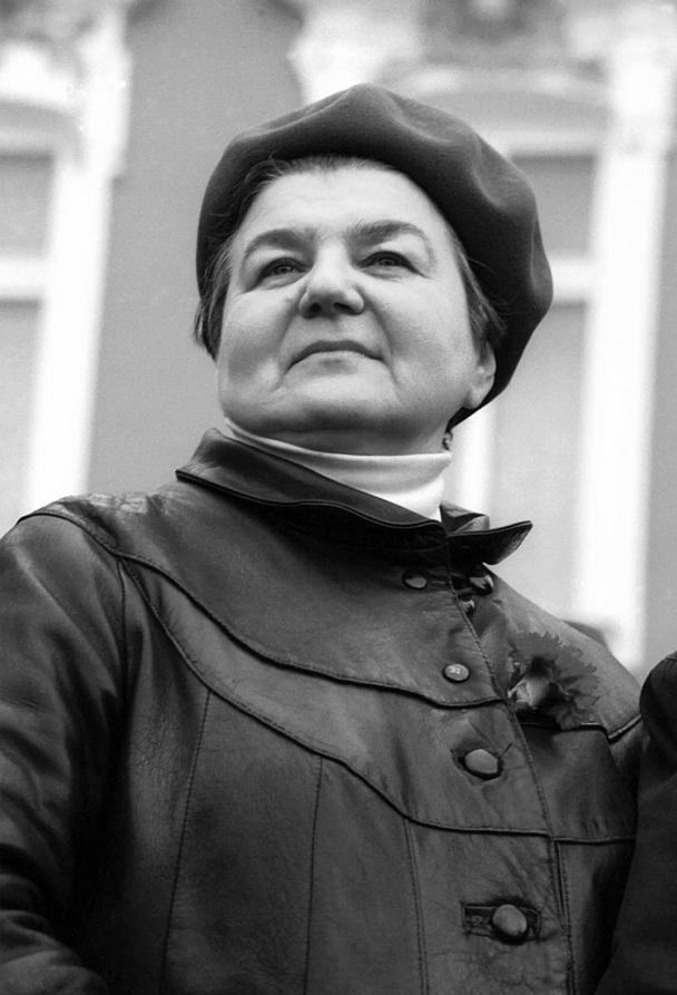 Бывший Генеральный секретарь ЦК Всесоюзной коммунистической партии большевиков Нина Александровна Андреева