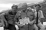 По словам создателей фильма, в новой версии прозвучат все старые песни, более того, зрители увидят и услышат полную версию хита «Если бы я был султан». В комедии Леонида Гайдая прозвучали только два куплета из четырех, второй и третий – вырезали. Все аранжировки патронирует Александр Сергеевич Зацепин, который и сочинил всю музыку к «Кавказской пленнице» 45 лет назад(фото: ИТАР-ТАСС)