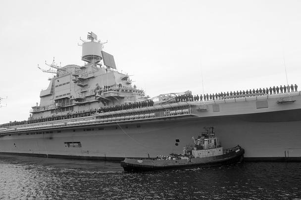 Испытания, к сожалению, выявили ряд недоделок, из-за которых корабль не сможет быть принят в состав ВМС Индии к намеченному сроку