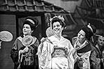 Опера Пуччини «Чио-Чио-Сан» на сцене Государственного академического Большого театра СССР (1966). На переднем плане – Чио-Чио-Сан – артистка Галина Вишневская(фото: ИТАР-ТАСС)