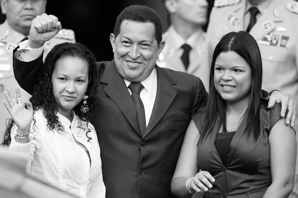 У Чавеса остались три дочери и два сына