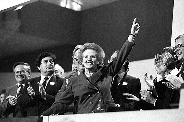 1989 год. Съезд Консервативной партии