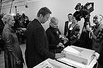 Алексей Навальный голосовал вместе с семьей на участке 1488(фото: РИА