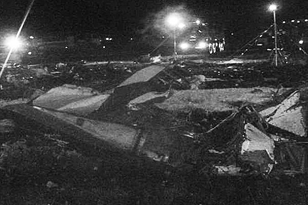 Самолет пытался уйти на второй круг, однако потерял высоту, упал на ВПП в аэропорту Казани и взорвался