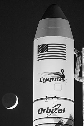 Вместе с ракетой Antares взорвался Cygnus – частный американский автоматический грузовой космический корабль снабжения