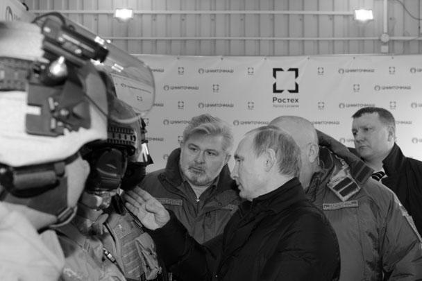 Путину показали современные и перспективные образцы экипировки военнослужащих Сухопутных войск и ВДВ