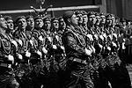 На площади можно было увидеть парадные расчеты вооруженных сил Белоруссии(фото: Владимир Вяткин/РИА «Новости»)