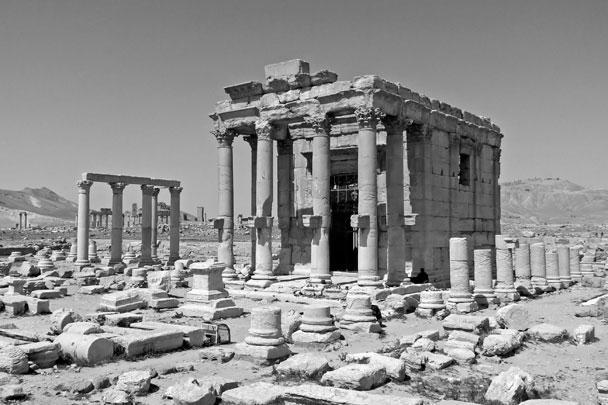 Первый утраченный от деятельности исламистов памятник – храм финикийского бога Баал-Шамина в Пальмире