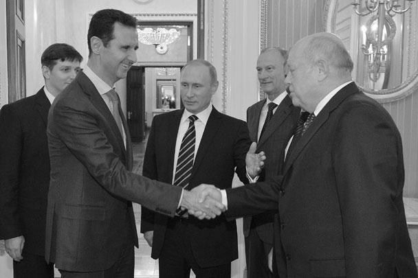 Башар Асад прибыл в Москву по приглашению российской стороны, чтобы обсудить актуальную ситуацию в Сирии и роль России в решении конфликта