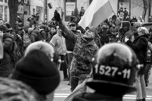 Националисты не в первый раз громят офисы в центре столицы
