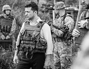 Украинские военные пока всерьез не принимают Зеленского за своего главкома