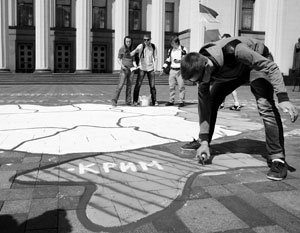 Все больше жителей Украины готовы признать новую политическую реальность