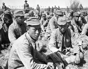 После капитуляции в плен к Красной армии попало более миллиона японских солдат