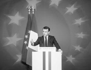 Макрону нужно отдать должное − он оказался гибким и амбициозным президентом