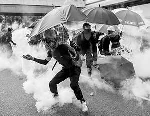 Участники беспорядков в Гонконге признаются, что их воодушевил успешный пример Евромайдана