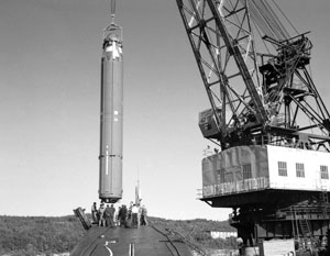Наши подлодки вооружились ракетами типа Р-29Р (или «Скат») более 40 лет назад