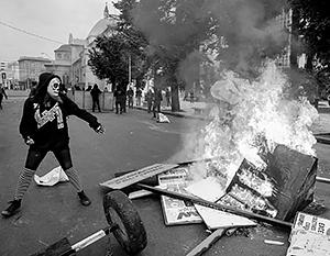 Беспорядки в Чили напомнили события в Париже
