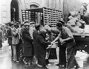 Великая депрессия затронула самые разные социальные слои американцев
