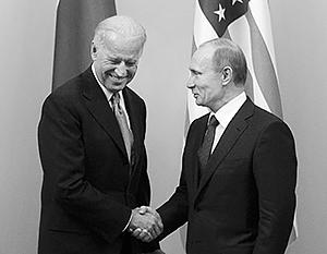 Единственная зафиксированная для истории встреча Владимира Путина с Джо Байденом состоялась 10 марта 2011 года в Москве