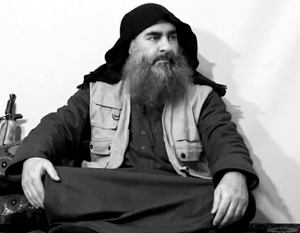 Свое последнее имя бывший Ибрахим аль-Бадри взял в честь политического преемника пророка Мухаммеда