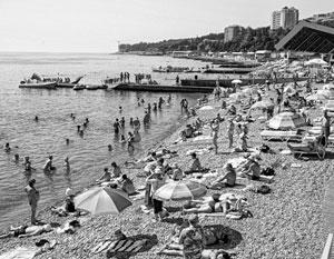 Украинцы снова начали ездить отдыхать в Крым