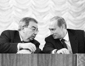 Владимир Путин многому научился у Евгения Примакова