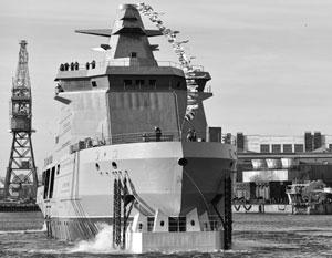 Россия спустила на воду крайне необходимый ей военный корабль