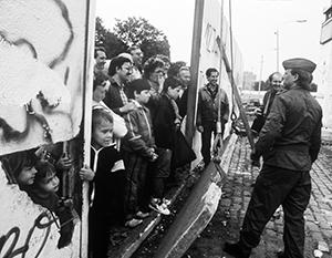 Возведение Берлинской стены стало для многих немцев настоящей трагедией
