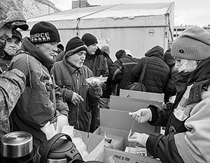 Российские бездомные стали жертвой мошенников нового типа