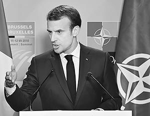 «Европейцы совершат большую ошибку, если не попытаются наладить отношения с Москвой», – заявил Макрон