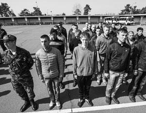 На Украине вернулись к идее отменить массовый призыв на военную службу и сделать армию полностью профессиональной