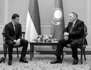 Бывший президент Казахстана Назарбаев предложил новому президенту Украины Зеленскому помочь помириться с Россией