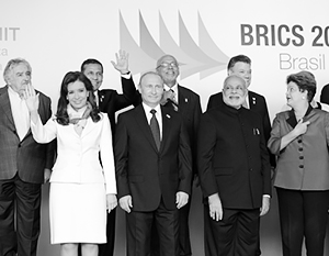 Пять лет назад, на прошлом саммите БРИКС в Бразилии, Владимир Путин встречался с президентами стран Южной Америки