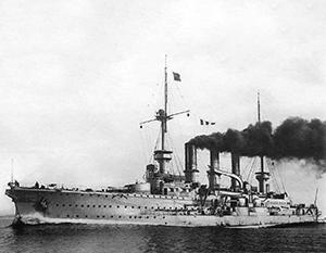 Крейсер «Фридрих Карл» был гордостью германского флота