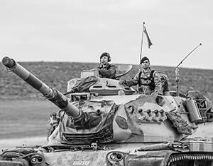 Турецкая армия на территории Сирии действует по принципу захвата земель, а не защиты от террористов