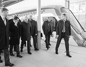 Открыть важнейший для Москвы транспортный проект приехал президент Путин